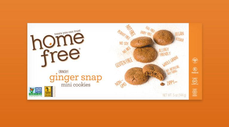 ginger snap mini cookies